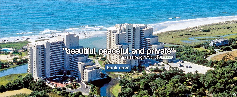 Welcome to Ocean Creek Resort - Official Resort Website