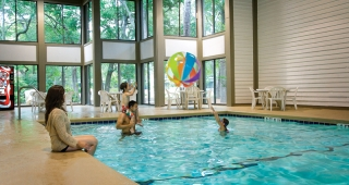 Indoor Pool at the Lodges
