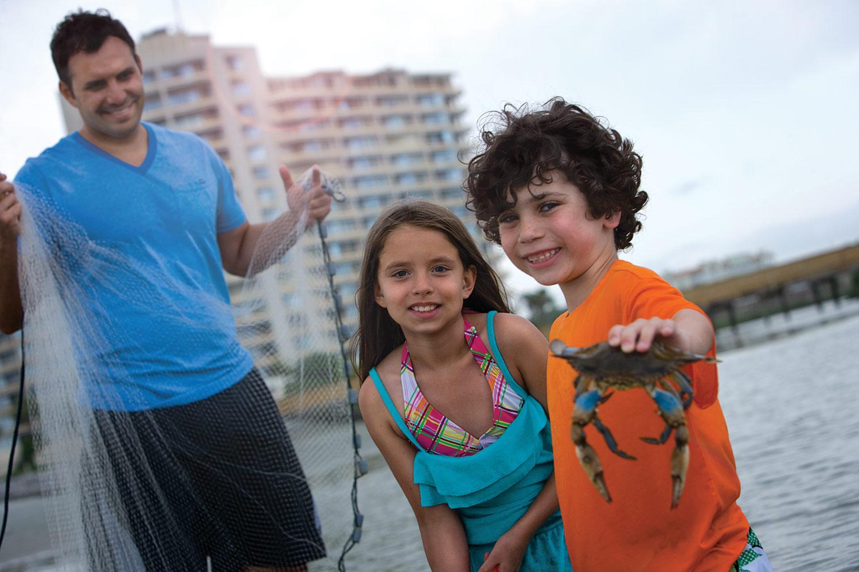 Wildlife is abound at Ocean Creek Resort!