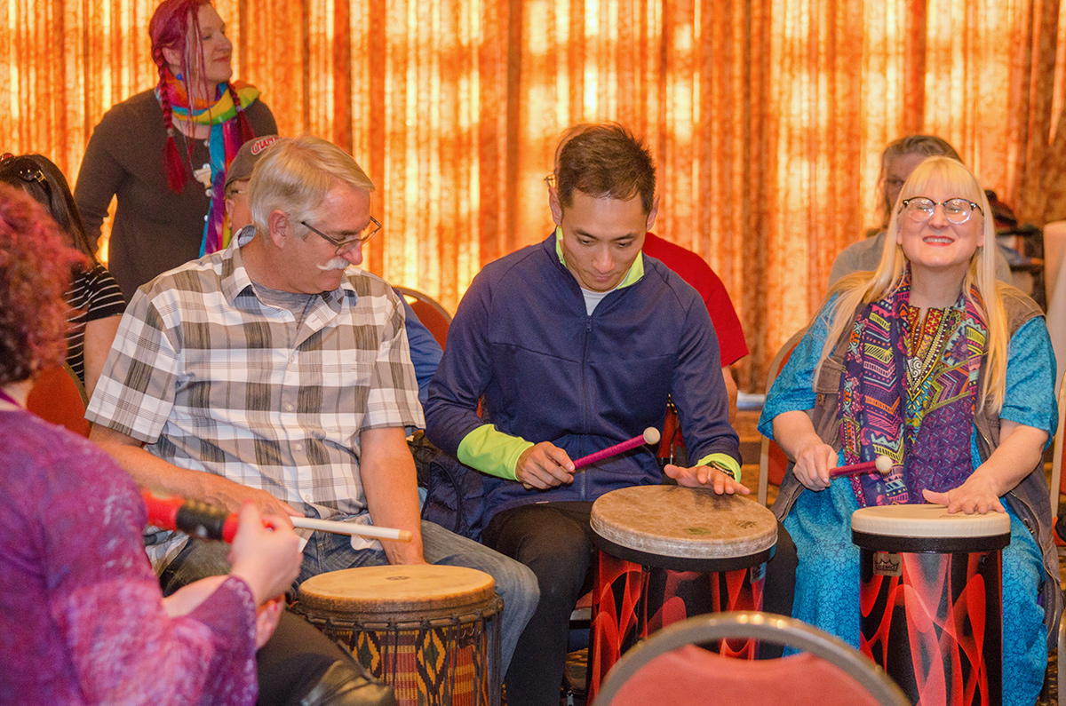 Ocean Creek Resort hosts an array of groups on an annual basis including the Drum Circle Facilitators.