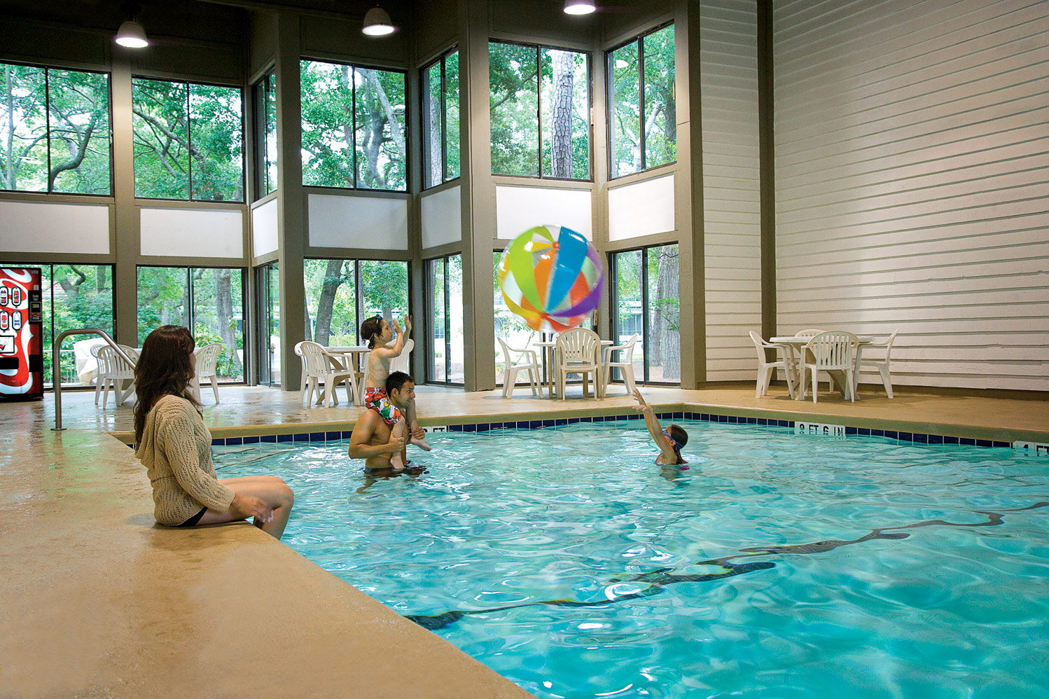 Relax at the Indoor Pool!