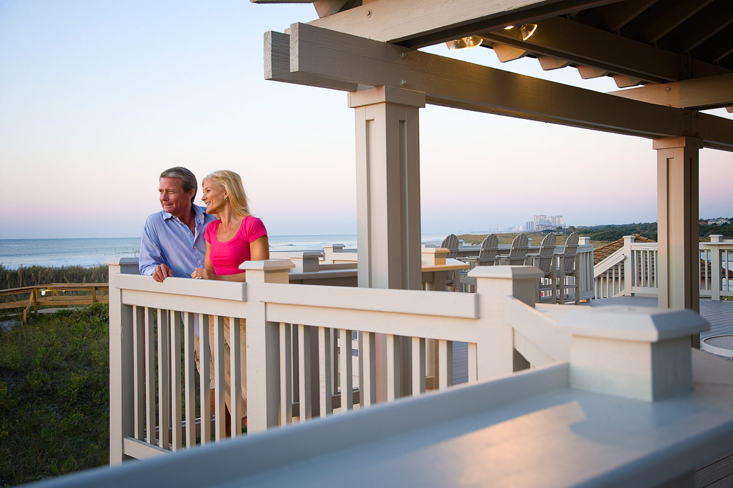 Take a break and visit the oceanfront Beach Club.