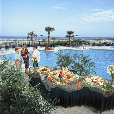 Ocean Creek's expanse property allows for spectacular opportunities on your next group function.